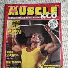Coleccionismo deportivo: MUSCLE & CO. Nº 13 BODYBUILDING MAGAZINE /MARTIN ALAMANGO/ LEE HANEY 1986. Lote 262063950
