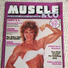 Coleccionismo deportivo: MUSCLE & CO. Nº 14 BODYBUILDING MAGAZINE /MARTIN ALAMANGO/ LEE HANEY 1986. Lote 262066515