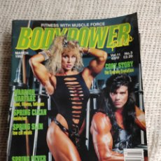 Coleccionismo deportivo: FITNESS WITH MUSCLE FORCE - BODY POWER Nº 3 - BODYBUILDING MARCH 1992. Lote 262067095