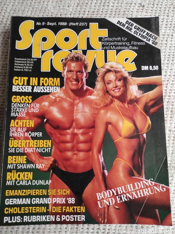 SPORT REVUE NR.9 (JAHR 1988) HEFT 237 ZEITSCHRIFT FÜR KÖRPERTRAINING UND FITNESS - EDICION EN ALEMAN (Coleccionismo Deportivo - Revistas y Periódicos - otros Deportes)