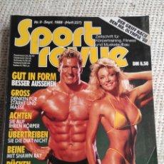 Coleccionismo deportivo: SPORT REVUE NR.9 (JAHR 1988) HEFT 237 ZEITSCHRIFT FÜR KÖRPERTRAINING UND FITNESS - EDICION EN ALEMAN. Lote 262067515