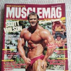 Coleccionismo deportivo: MUSCLEMAG DECEMBER 1985 VOL. 10 Nº 8 - EDICION EN INGLES. Lote 262067955