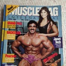 Coleccionismo deportivo: MUSCLEMAG APRIL 1985 VOL. 10 Nº 4 - EDICION EN INGLES. Lote 262067995
