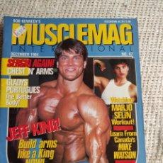 Coleccionismo deportivo: MUSCLEMAG DECEMBER 1984 Nº 84 - EDICION EN INGLES. Lote 262068055