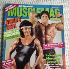 Coleccionismo deportivo: MUSCLEMAG OCTOBER 1985 - EDICION EN INGLES. Lote 262068215