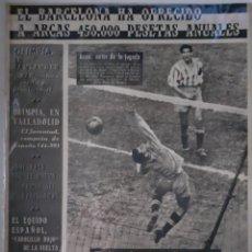 Collectionnisme sportif: OLIMPIA SEMANARIO GRAFICO DE LOS DEPORTES NÚMERO 38 FECHA 2 JUNIO DE 1953. Lote 262307740