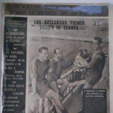 Collectionnisme sportif: OLIMPIA SEMANARIO GRAFICO DE LOS DEPORTES NÚMERO 47 FECHA 1 DE SEPTIEMBRE DE 1953. Lote 262311040