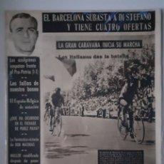 Collectionnisme sportif: OLIMPIA SEMANARIO GRAFICO DE LOS DEPORTES NÚMERO 48 FECHA 8 SEPTIEMBRE DE 1953. Lote 262311315