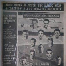 Coleccionismo deportivo: OLIMPIA SEMANARIO GRAFICO DE LOS DEPORTES NÚMERO 65 FECHA 5 DE ENERO DE 1954. Lote 262317615