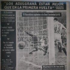 Coleccionismo deportivo: OLIMPIA SEMANARIO GRAFICO DE LOS DEPORTES NÚMERO 66 FECHA 12 DE ENERO DE 1954. Lote 262317930