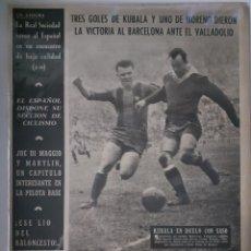 Coleccionismo deportivo: OLIMPIA SEMANARIO GRAFICO DE LOS DEPORTES NÚMERO 68 FECHA 26 DE ENERO DE 1954. Lote 262318380