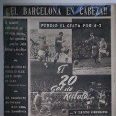 Coleccionismo deportivo: OLIMPIA SEMANARIO GRAFICO DE LOS DEPORTES NÚMERO 70 FECHA 9 DE FEBRERO DE 1954. Lote 262318870