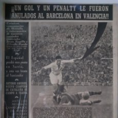 Coleccionismo deportivo: OLIMPIA SEMANARIO GRAFICO DE LOS DEPORTES NÚMERO 71 FECHA 16 DE FEBRERO DE 1954. Lote 262319125