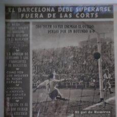 Coleccionismo deportivo: OLIMPIA SEMANARIO GRAFICO DE LOS DEPORTES NÚMERO 73 FECHA 2 DE MARZO DE 1954. Lote 262319575