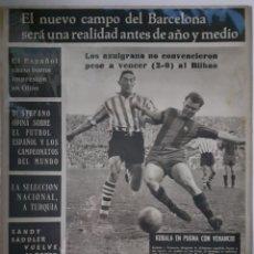 Coleccionismo deportivo: OLIMPIA SEMANARIO GRAFICO DE LOS DEPORTES NÚMERO 74 FECHA 9 DE MARZO DE 1954. Lote 262319895
