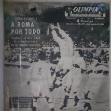 Coleccionismo deportivo: OLIMPIA SEMANARIO GRAFICO DE LOS DEPORTES NÚMERO 75 FECHA 16 DE MARZO DE 1954. Lote 262320195