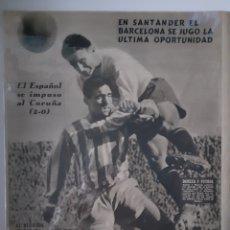 Coleccionismo deportivo: OLIMPIA SEMANARIO GRAFICO DE LOS DEPORTES NÚMERO 76 FECHA 23 DE MARZO DE 1954. Lote 262320490