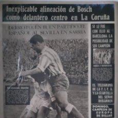 Coleccionismo deportivo: OLIMPIA SEMANARIO GRAFICO DE LOS DEPORTES NÚMERO 78 FECHA 6 DE ABRIL DE 1954. Lote 262320925