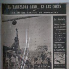 Coleccionismo deportivo: OLIMPIA SEMANARIO GRAFICO DE LOS DEPORTES NÚMERO 79 FECHA 13 DE ABRIL DE 1954. Lote 262321280