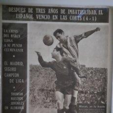 Coleccionismo deportivo: OLIMPIA SEMANARIO GRAFICO DE LOS DEPORTES NÚMERO 80 FECHA 20 DE ABRIL DE 1954. Lote 262321505