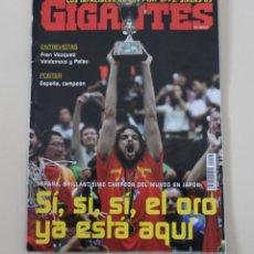 Coleccionismo deportivo: REVISTA GIGANTES DEL BASKET. Nº 1088 ESPAÑA CAMPEÓN DEL MUNDO DE BALONCESTO. JAPÓN 2006. Lote 262599940