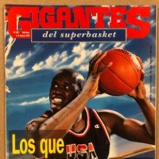 Coleccionismo deportivo: GIGANTES DEL BASKET N° 456 (1994). GUÍA MUNDOBASKET '94, DREAM TEAM II, SELECCIÓN ESPAÑOLA,.... Lote 262918140