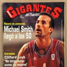 Coleccionismo deportivo: GIGANTES DEL BASKET N° 430 (1994). MICHAEL SMITH (PAMESA VALENCIA), PAT EWING, DELEF SCHREMPF, LUYK,. Lote 262920145