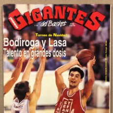 Coleccionismo deportivo: GIGANTES DEL BASKET N° 426 (1994). BODIROGA, LASA, GEORGE KARL, CHICAGO BULLS,..,. Lote 262920555