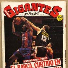 Coleccionismo deportivo: GIGANTES DEL BASKET N° 278 (1991). POSTER DOMINIQUE WILKINS, BARÇA CAMPEÓN DE COPA,.... Lote 262928900
