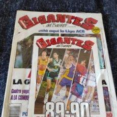 Colecionismo desportivo: GIGANTES DEL BASKET Nº 203 SEPTIEMBRE 1989 GUIA DE LA LIGA 89-90 NUEVO. Lote 263019695
