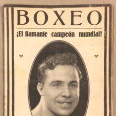"Coleccionismo deportivo: REVISTA BOXEO N° 531 (1935). BALTASAR BERENGUER ""SANGCHILI"" CAMPEÓN DEL MUNDIAL, KID MERINO,.... Lote 263043725"
