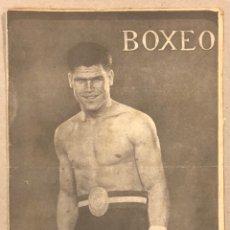 Coleccionismo deportivo: REVISTA BOXEO N° 558 (1935). MARTÍNEZ DE ALFARA CAMPEÓN DE ESPAÑA, SANGCHILI, UZCUDUN, JOE LOUIS,.... Lote 263049380