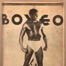 Coleccionismo deportivo: REVISTA BOXEO N° 559 (1935). KID TUNERO, JOE LOUIS VS PAULINO UZCUDUN, GASTAÑAGA, JOSÉ MICÓ. Lote 263062130