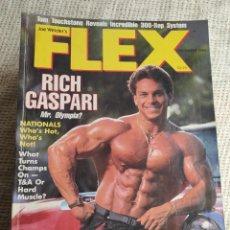 Coleccionismo deportivo: REVISTAS DE CULTURISMO - FLEX DECEMBER 1985 RIC GASPARI - EDICION USA. Lote 263127170
