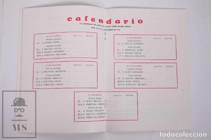 Coleccionismo deportivo: Programa/ Revista XII Campeonato de Europa de Hockey sobre Patines Junior - Reus, 1972 - FEP - Foto 3 - 263667735