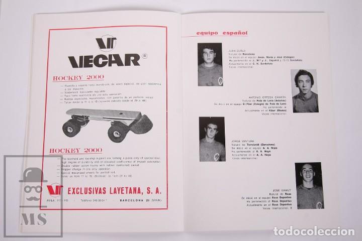 Coleccionismo deportivo: Programa/ Revista XII Campeonato de Europa de Hockey sobre Patines Junior - Reus, 1972 - FEP - Foto 4 - 263667735