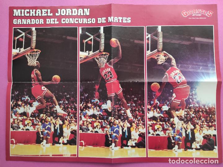 Coleccionismo deportivo: REVISTA GIGANTES DEL BASKET Nº 120 1988 EXTRA ALL STAR NBA CHICAGO 88 POSTER GIGANTE MICHAEL JORDAN - Foto 2 - 263673005