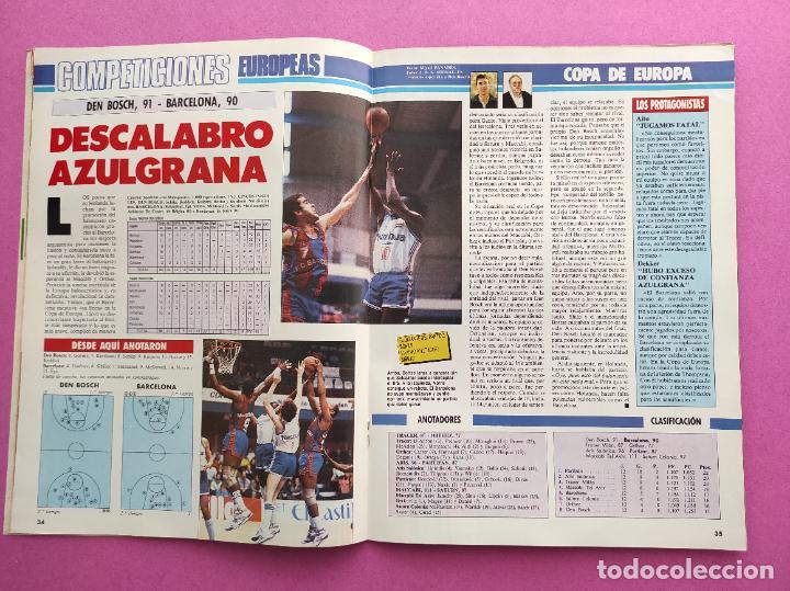 Coleccionismo deportivo: REVISTA GIGANTES DEL BASKET Nº 124 1988 REAL MADRID CAMPEON COPA KORAC 87/88-CORBALAN-LOLO SAINZ - Foto 2 - 263673405