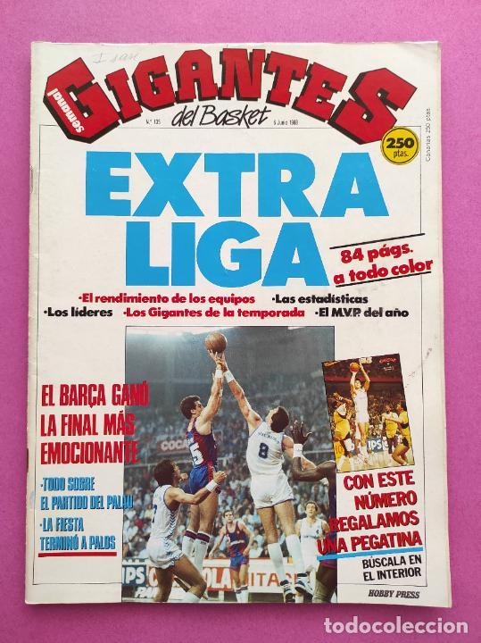 REVISTA GIGANTES DEL BASKET Nº 135 EXTRA LIGA ACB 87/88 - POSTER BARÇA CAMPEON 1987/1988 (Coleccionismo Deportivo - Revistas y Periódicos - otros Deportes)