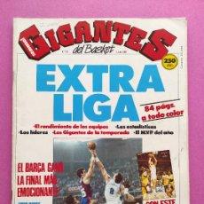 Coleccionismo deportivo: REVISTA GIGANTES DEL BASKET Nº 135 EXTRA LIGA ACB 87/88 - POSTER BARÇA CAMPEON 1987/1988. Lote 263674015