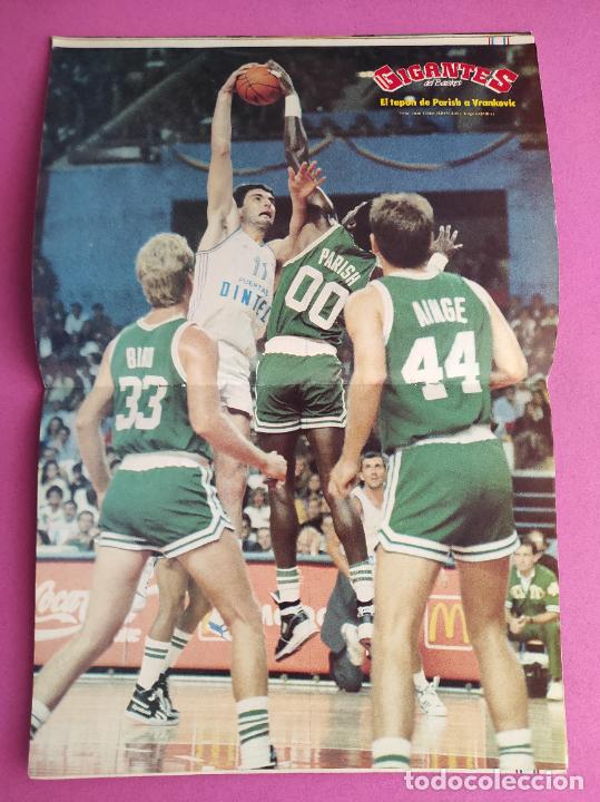 Coleccionismo deportivo: REVISTA GIGANTES DEL BASKET Nº 156 1988 OPEN MCDONALDS 88 BOSTON CELTICS POSTER ROBERT PARISH - Foto 2 - 263681960