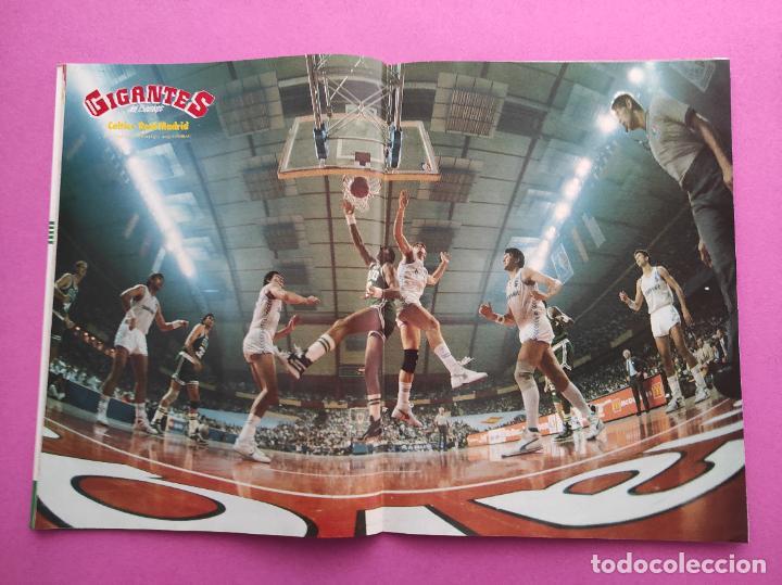 Coleccionismo deportivo: REVISTA GIGANTES DEL BASKET Nº 157 1988 ESPECIAL NBA TEMPORADA 88/89 POSTERS CELTICS-REAL MADRID - Foto 2 - 263682755