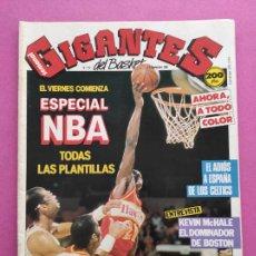 Coleccionismo deportivo: REVISTA GIGANTES DEL BASKET Nº 157 1988 ESPECIAL NBA TEMPORADA 88/89 POSTERS CELTICS-REAL MADRID. Lote 263682755