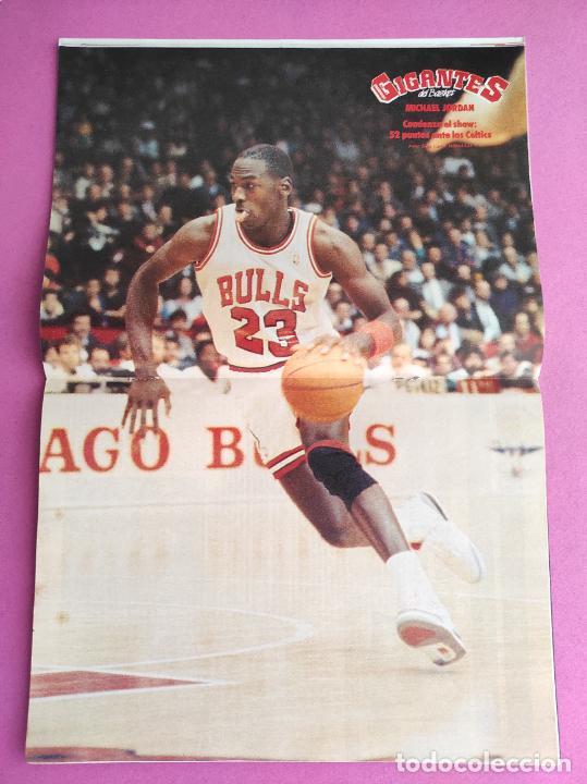 Coleccionismo deportivo: REVISTA GIGANTES DEL BASKET Nº 159 1988 ESPECIAL COPA DEL REY 88 - POSTER MICHAEL JORDAN BULLS NBA - Foto 2 - 263683245