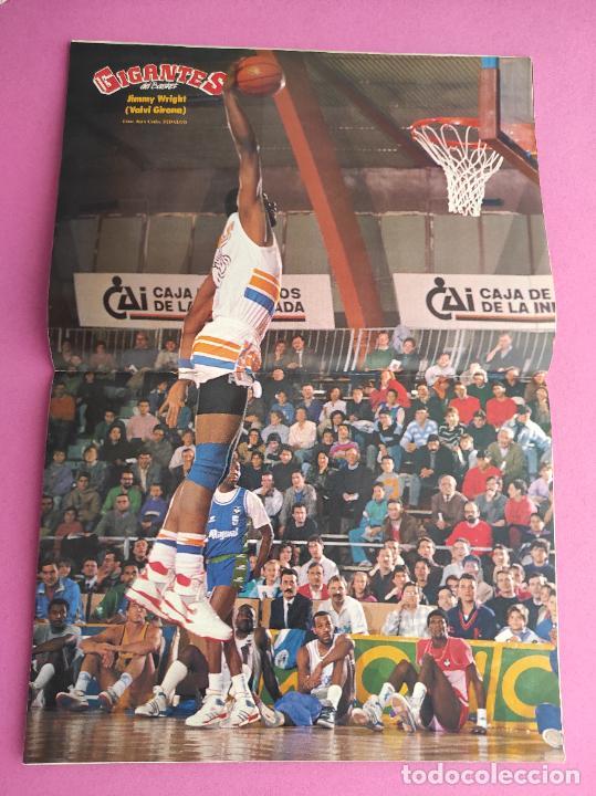 Coleccionismo deportivo: REVISTA GIGANTES DEL BASKET Nº 163 1988 ESPECIAL ENTREVISTA MICHAEL JORDAN POSTER VALVI GIRONA - Foto 2 - 263684140