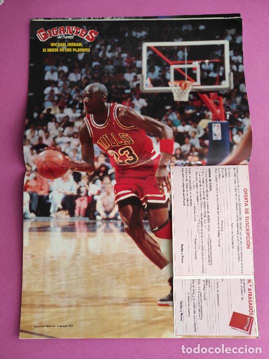 Coleccionismo deportivo: REVISTA GIGANTES DEL BASKET Nº 189 1989 DETROIT PISTONS CAMPEON NBA 88/89 POSTER JORDAN BULLS - Foto 2 - 263686260