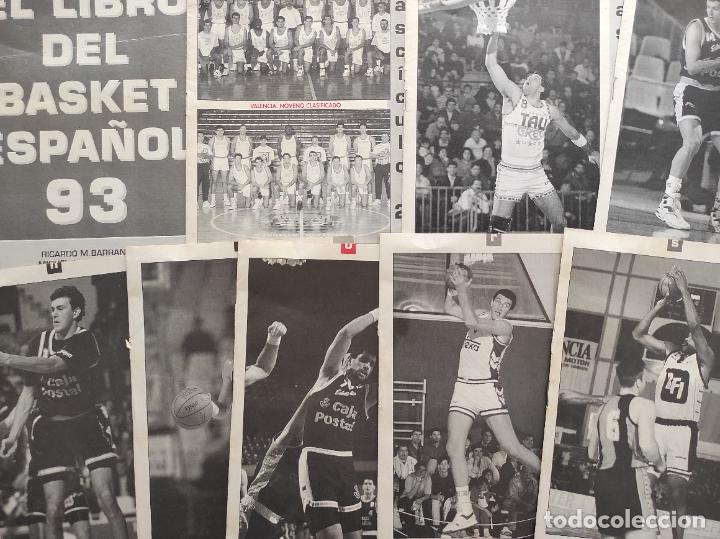 Coleccionismo deportivo: EL LIBRO DEL BASKET ESPAÑOL 93 - REVISTA GIGANTES BASKET 1993 - COMPLETO 9 FASCICULOS - Foto 2 - 263687690