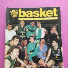 Coleccionismo deportivo: REVISTA DON BASKET Nº 13 JOVENTUT BADALONA CAMPEON COPA KORAC 89/90 - POSTER PENYA 1989/1990. Lote 263693275