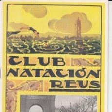Coleccionismo deportivo: REVISTA CLUB NATACION REUS PLOMS - AÑO 1946------ NUMERO 10 ------. Lote 263951085