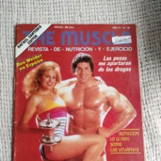 Coleccionismo deportivo: CULTURISMO - THE MUSCLE Nº 33 - REVISTA DE NUTRICIÓN Y EJERCICIO -ED. RAFAEL SANTONJA. Lote 296001938